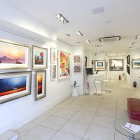 Gallery Rouge installs LED with SERA