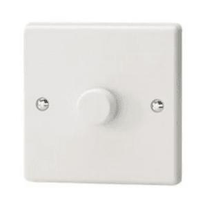1 Gang LED Dimmer White