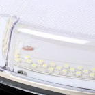 LED  IP65 Bulkhead Fitting Side View