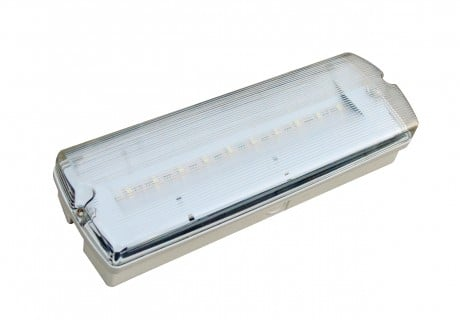 IP65  3W LED Emergency Bulkhead