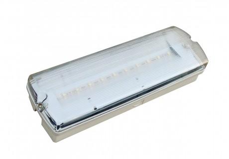LED Emergency Bulkhead 3W IP65