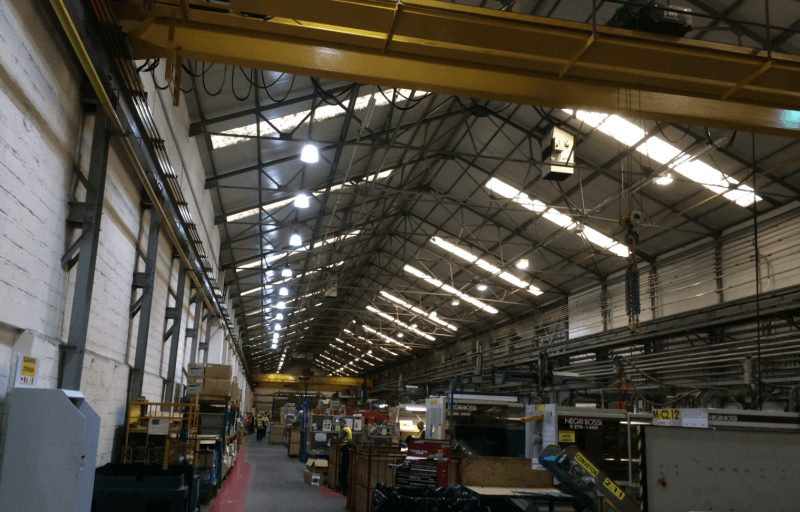 There are a range of factory lights available but our most popular are the High-Bay LED Light Fittings. They have fantastic light distribution and use up ... & LED Factory Lighting | Sera Technologies Ltd