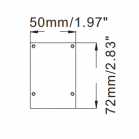 Dimensions STL137 LED Linear Light