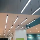 Installed STL137 LED Linear Lighting