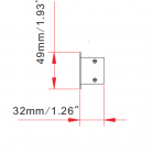 Recessed LED Linear Light Dimensions