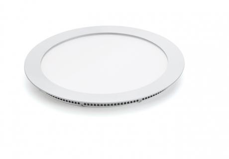 Kan dæmpes, runde LED-panellamper
