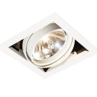 AR111 LED Single White Fitting