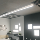 Continuous LED Linear Lighting Installed Example