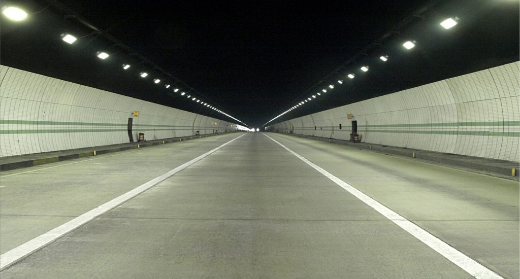 LED Tunnel Lighting Security