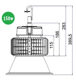 LED High Bay Lighting 150w HBE