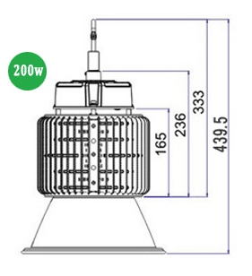 LED High Bay Lighting 200w HBE