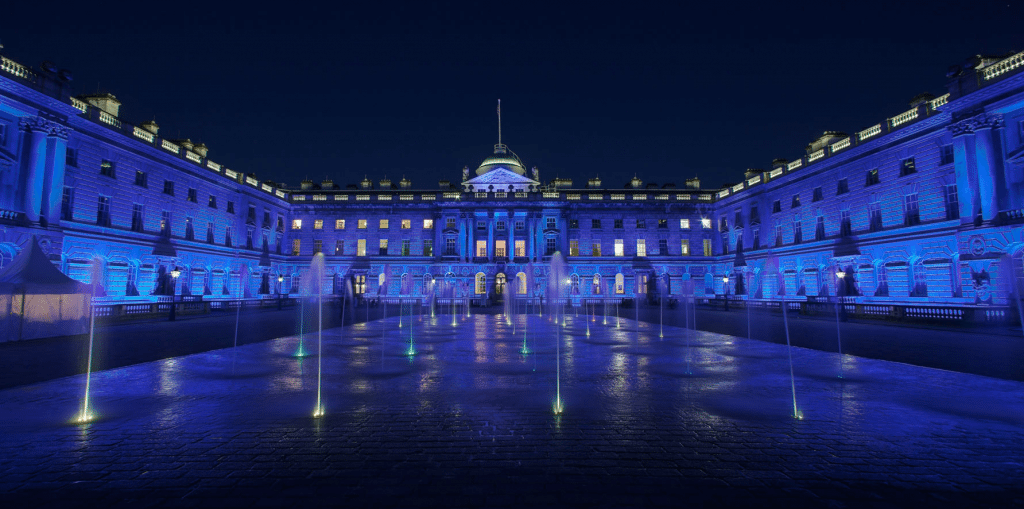 Somerset House Sera Technologies Architectural LED Lighting