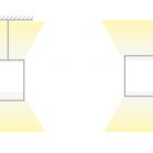 Direct / Indirect LED Linear Lighting - Suspended or Wall Mounted