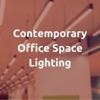 Contemporary Office Space Lighting