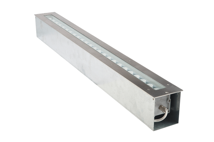 Outdoor In Ground Linear LED Drive Over Lights