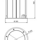 ArcSouce 24MC In Ground Dimensions
