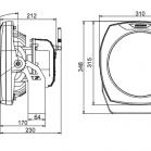 Anolis ArcSource 48MC Integral Dimensions