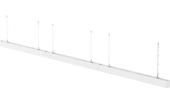 Continuous LED Linear Lighting STL331 – Suspended, Recessed or Surface