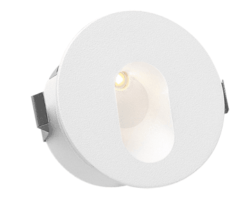 Stair Light 3W LED Round Dimmable (Recessed)