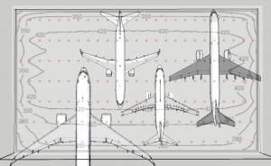 Aircraft Hangar Lighting Layout