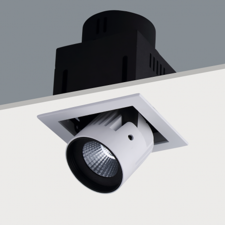 Single Recessed Fully Adjustable LED Spotlight STR391 (20w)