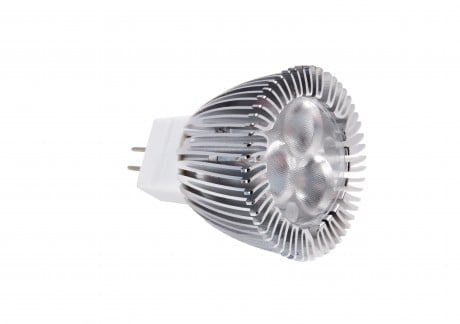 LED MR11 Bulb 3W Dimmable (12v, GU4 Base)