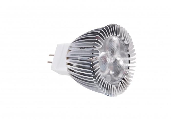 LED MR11 3W Dimmable (12v, GU4 Base)