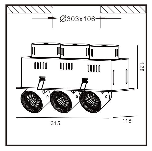 STR393 Dimensioner for LED-belysning