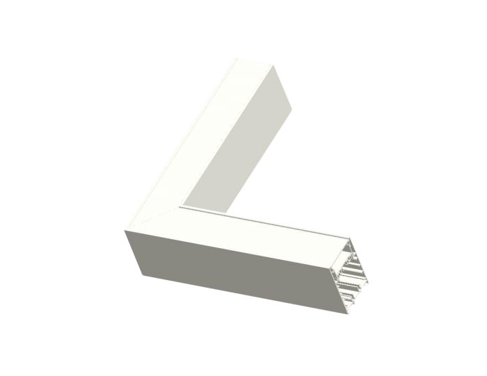 Linear LED Corner L Section STL371 (Elbow)