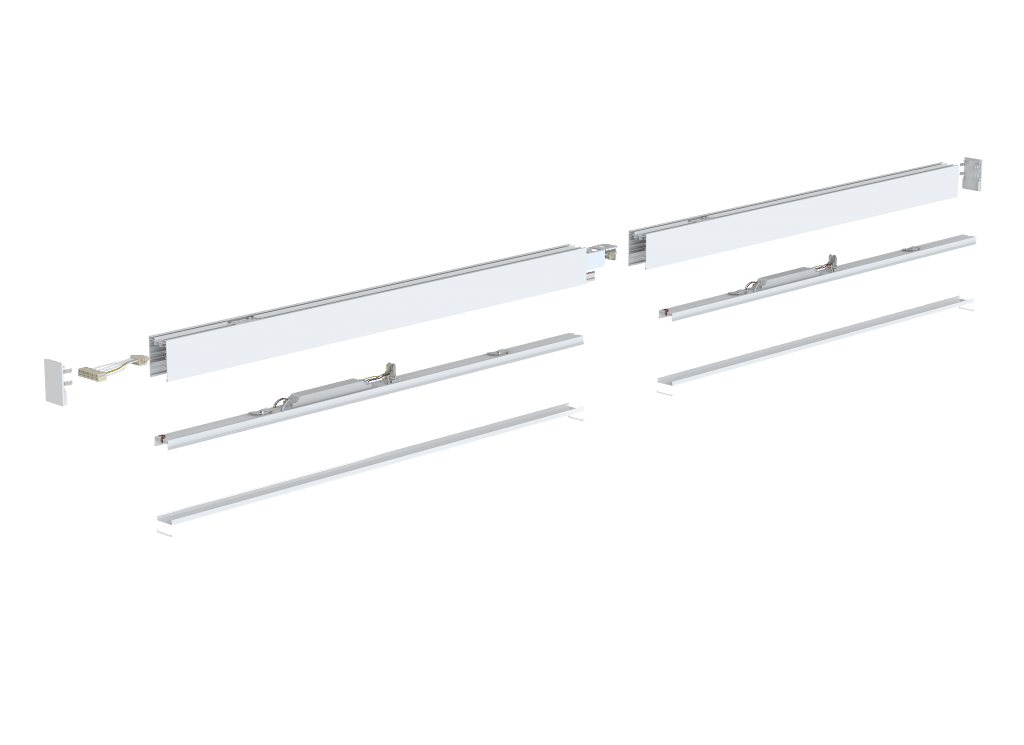 continuous linear led lighting stl371