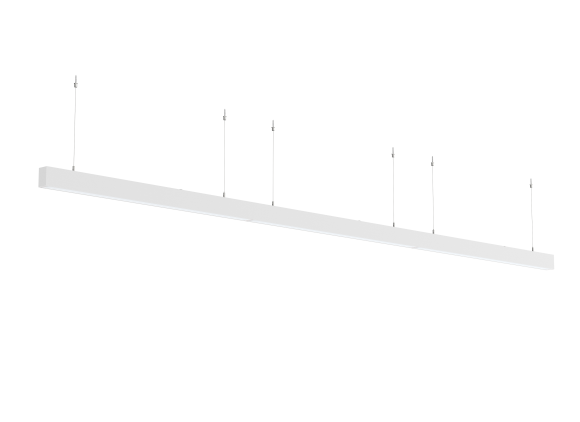 Continuous Suspended Linear LED Lighting STL371 – to 110m