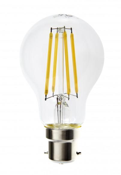 B22 Dimmable LED 7W Filament Light Bulb  (A60)