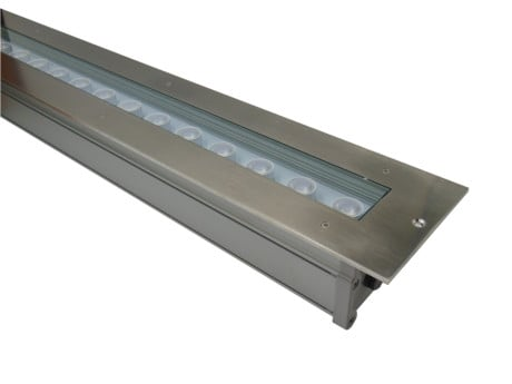 Libra Outdoor In Ground Linear LED Drive Over Lights