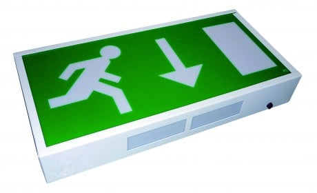 LED Emergency Exit Box Sign