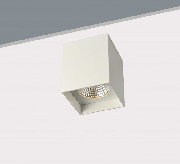 10W Small Surface Mounted Square LED Light fitting
