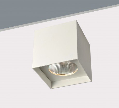 20W Large Surface Mounted Square LED Downlight