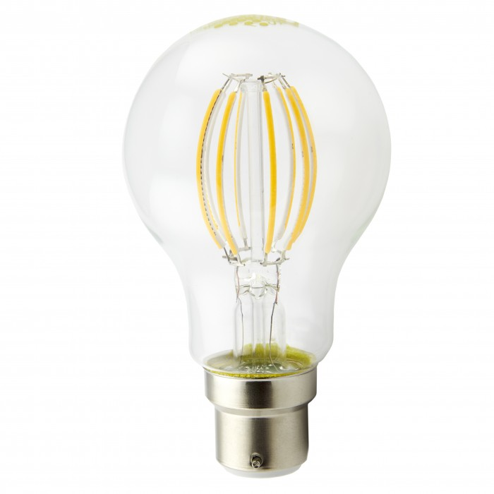8W B22 Graphene LED Dimmable Filament Light Bulb  (A60)