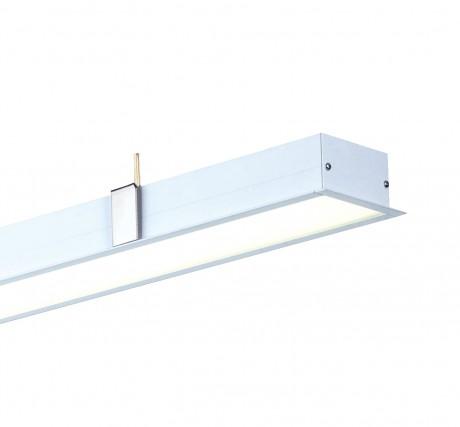 36 Éclairage LED linéaire encastré IP44 W STL279 (1140 mm affleurant)