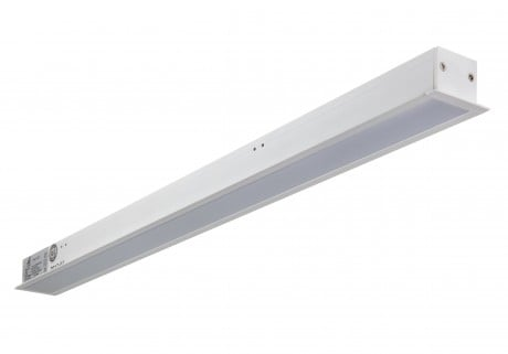 Slim Recessed Linear LED Lighting STL278 – 600mm (0.6m), 1200mm (1.2m), 1500mm (1.5m) – Warm / Natural White LED. (Office and Retail Light)