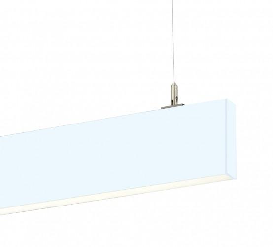 Thin Suspended Linear Led Lighting Stl138 36w Narrow Blade Pendant