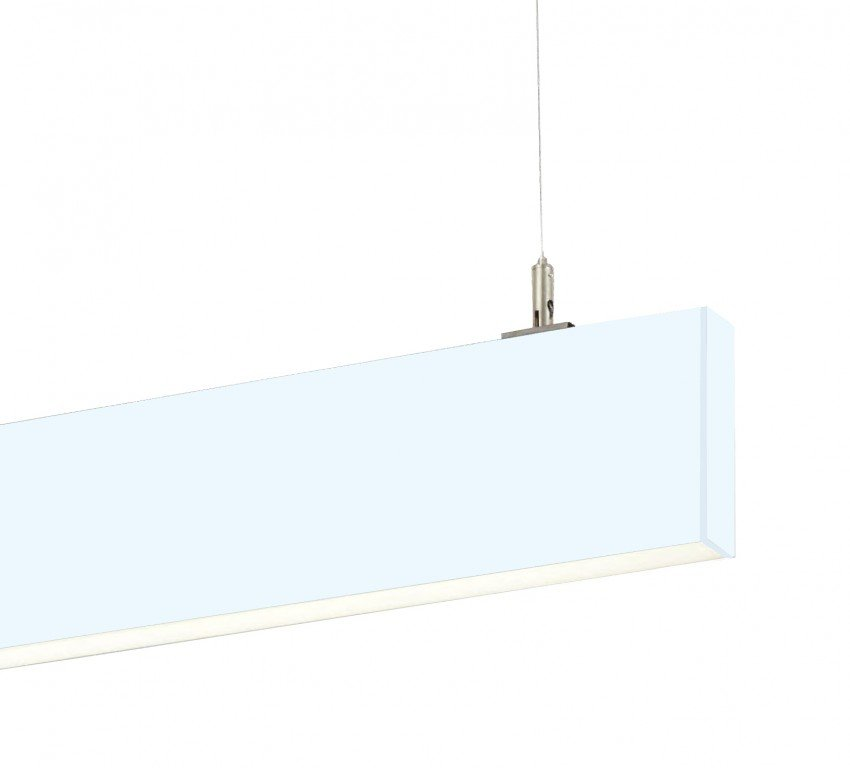 linear suspended lighting. Thin Suspended Linear LED Lighting STL138 (36W Narrow Blade Pendant)