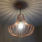 Graphene LED Light Bulb illuminated in a Pendant (Pendant not included)