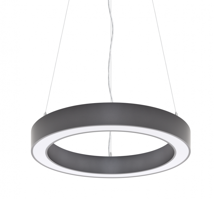 James LED Halo Ring Pendant Suspended – Horizontal
