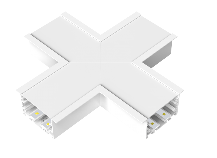 STL288 Modular Linear LED Recessed Cross Section