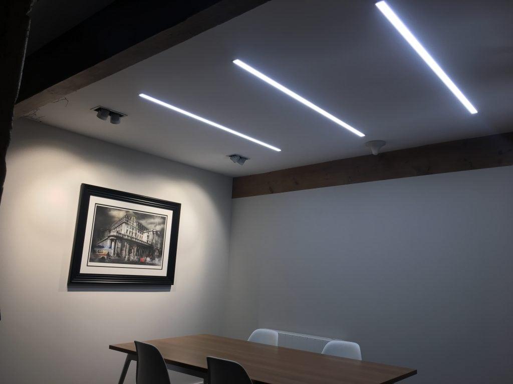 Recessed Led Linear Lighting Stl278 Sera Technologies Ltd