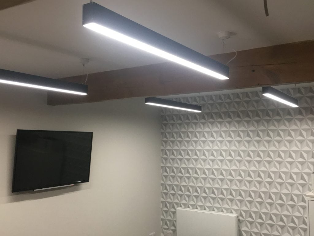 4ft Led Shop Light >> Suspended LED Linear Lighting STL137 | Sera Technologies Ltd