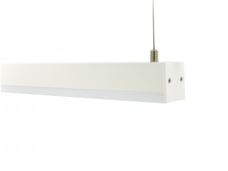 24W 1200mm (4ft) Mini Suspended LED Linear Lighting STL130