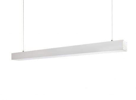 Linear LED Suspended Pendant Light STL137 (Finish: Black / White – Length: 0.6m,1.2m, 1.5m)