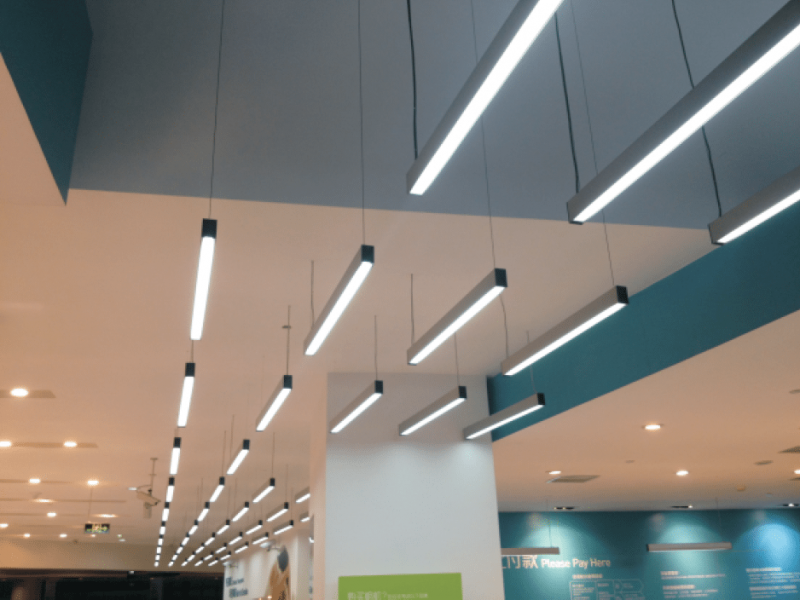 LED office lighting and energy efficiency