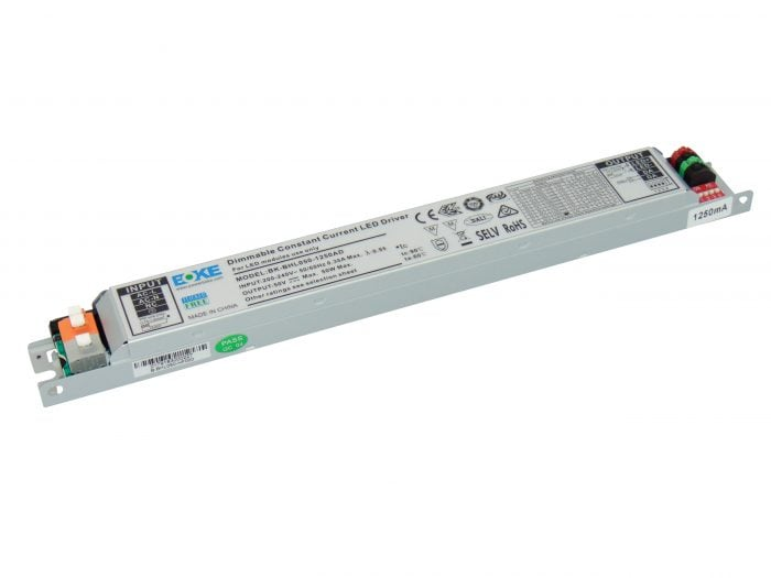 50W DALI Dimmable Constant Current LED Driver (800mA to 1250mA)